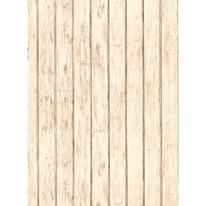 Welcome Home Cream, Light and Medium Taupe Bead Board Wallpaper
