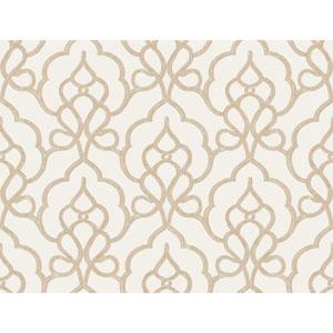 Filigree Tiara White Wallpaper