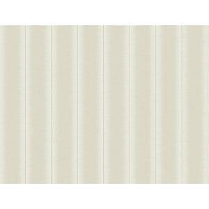 Filigree Luminous Stripe White Wallpaper
