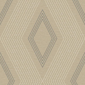 Ashford Geometrics Taupe and Grey Aspen Wallpaper