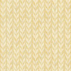 Ashford Geometrics Yellow and Cream Graphic Knit Wallpaper