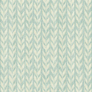 Ashford Geometrics Aqua and Cream Graphic Knit Wallpaper