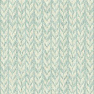 Ashford Geometrics Aqua and Cream Graphic Knit Wallpaper
