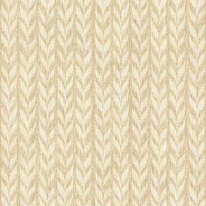 Ashford Geometrics Light Brown and Cream Graphic Knit Wallpaper