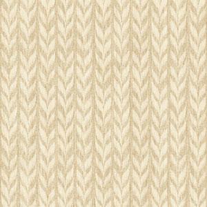 Ashford Geometrics Light Brown and Cream Graphic Knit Wallpaper
