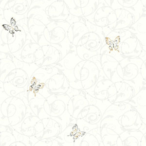 Growing Up Kids Scroll Removable Wallpaper