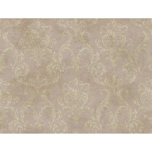Brandywine Delia Damask Wallpaper