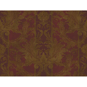 Brandywine Aida Damask Stripe Wallpaper