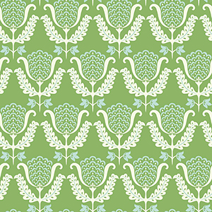 Waverly Garden Party Green Wallpaper