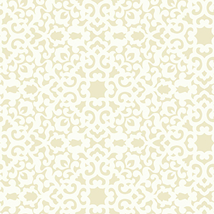 Waverly Garden Party Beige Wallpaper