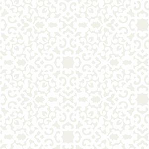 Waverly Garden Party Pearl Wallpaper