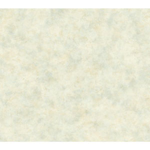 Handpainted III Beige and Light Blue Painterly Texture Wallpaper