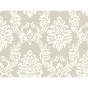 Pattern Play Ogee Damask Wallpaper