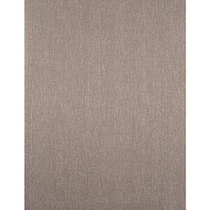 York Textures Chocolate Brown and Silver Metallic Bark Cloth Wallpaper