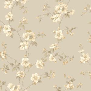 Opal Essence Grey Apple Blossom Wallpaper