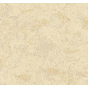 Opal Essence Grey and Tan Marble Crinkle Wallpaper