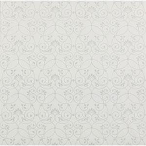 Friends Forever White Glitter Scroll Wallpaper
