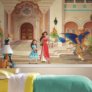 Disney Princess Elena of Avalor XL Chair Rail Prepasted Mural