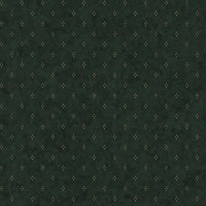 Welcome Home Olive Green, Parchment Tan and Black Dots with Crackle Wallpaper