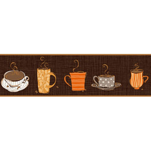 Bistro 750 Coffee Mug Border
