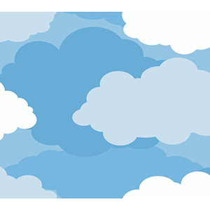 Inspired by Color Blue Cloud Wallpaper