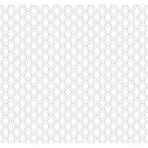Cool Kids Snow and Silver Frost Glitter Trellis Wallpaper