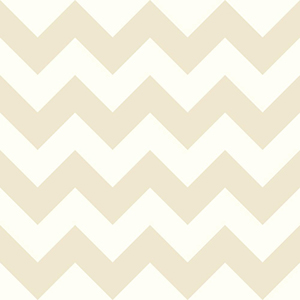 Cool Kids Snow and Mushroom Tan Chevron Wallpaper