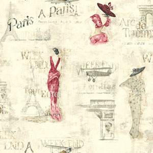 Europa II Weekend In Paris Prepasted Wallpaper