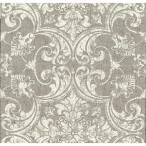 Organic Cork Prints Regency Metallic Wallpaper