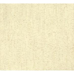 Organic Cork Prints Plain Bamboo Beige Wallpaper