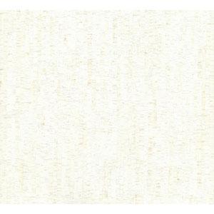 Organic Cork Prints Plain Bamboo White and Off White Wallpaper