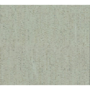 Organic Cork Prints Plain Bamboo Green Wallpaper