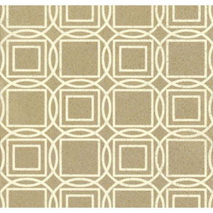 Organic Cork Prints Labyrinth Metallic Wallpaper