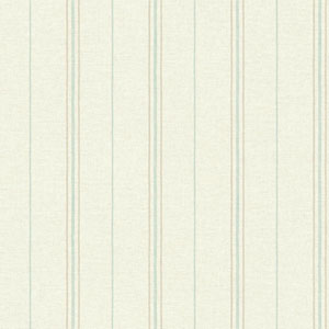 Rustic Living Grain Sack Stripe Beige Wallpaper