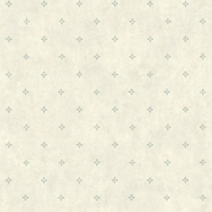 Rustic Living Ditzy Spot White and Off White Wallpaper