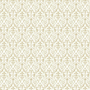 Young At Heart Pizzazz Metallic and White/Off Whites Wallpaper