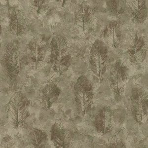 Lake Forest Lodge Leaf Texture Wallpaper