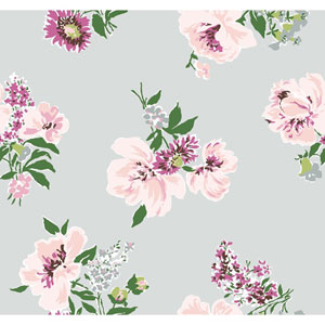 Madcap Cottage Isleboro Eve Paris Grey Wallpaper