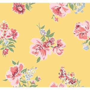 Madcap Cottage Isleboro Eve Daffodil Wallpaper