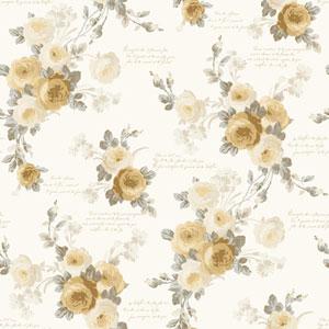 Heirloom Rose Removable Wallpaper