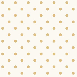 Dots on Dots White and Yellow Removable Wallpaper