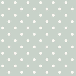 Dots on Dots Green and White Removable Wallpaper