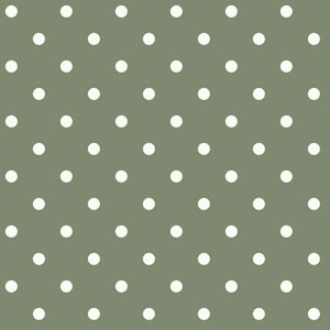 Dots on Dots White and Green Removable Wallpaper