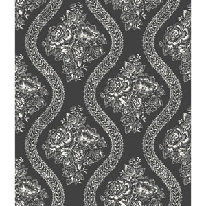 Coverlet Floral Removable Wallpaper