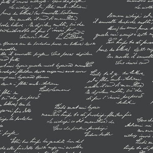 Noteworthy Black and White Removable Wallpaper