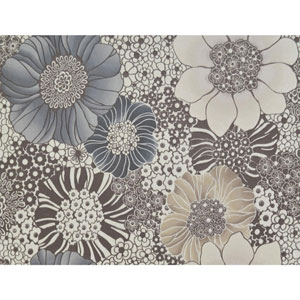 Missoni Home Anemones Brown Wallpaper