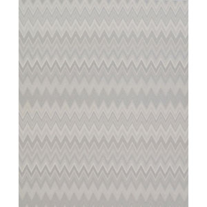 Missoni Home Zig Zag Multicolored Cream and Silver Wallpaper