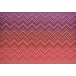 Missoni Home Zig Zag Sfumato Pink Wallpaper Mural