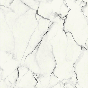 Mixed Materials Black and White Marble Wallpaper