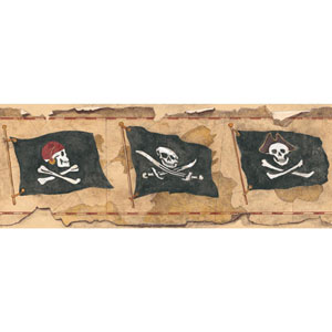 Mural Portfolio II Pirate Flag Border
